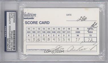 1900-Present Signed Official Scorecards - [Base] #GABE - George Archer, Bob Eastwood [PSA/DNACertifiedAuto]
