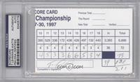 Tom Lehman, Brian Watts [PSA/DNA Certified Auto]