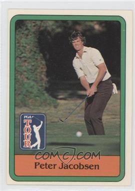 1981 Donruss Golf Stars - [Base] #26 - Peter Jacobsen