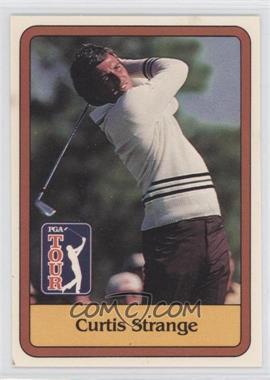 1981 Donruss Golf Stars - [Base] #3 - Curtis Strange