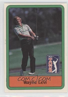 1981 Donruss Golf Stars - [Base] #32 - Wayne Levi
