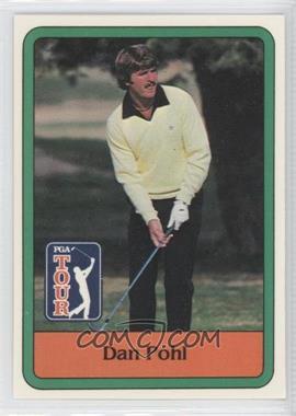 1981 Donruss Golf Stars - [Base] #44 - Dan Pohl