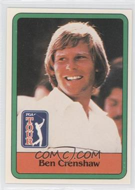 1981 Donruss Golf Stars - [Base] #5 - Ben Crenshaw