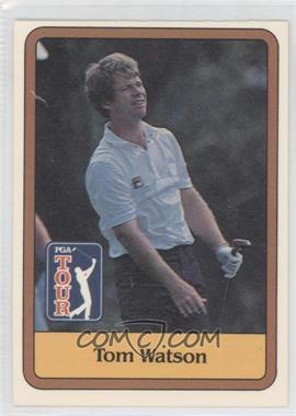 1981 Donruss Golf Stars #1 - Tom Watson