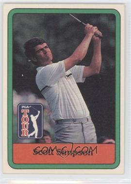 1981 Donruss Golf Stars #24 - Scott Simpson