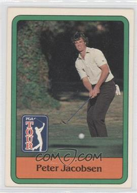 1981 Donruss Golf Stars #26 - Peter Jacobsen
