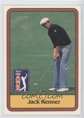 1981 Donruss Golf Stars #45 - Jack Renner