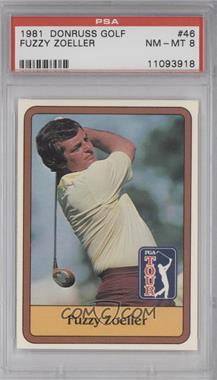 1981 Donruss Golf Stars #46 - Fuzzy Zoeller [PSA8]