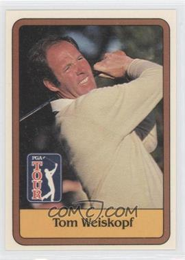 1981 Donruss Golf Stars #47 - Tom Weiskopf
