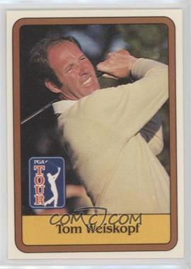 1981 Donruss Golf Stars #47 - Tom Weiskopf