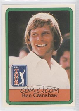 1981 Donruss Golf Stars #5 - Ben Crenshaw