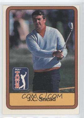 1981 Donruss Golf Stars #54 - J.C. Snead
