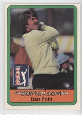 1981 Donruss Golf Stars #N/A - Dan Pohl