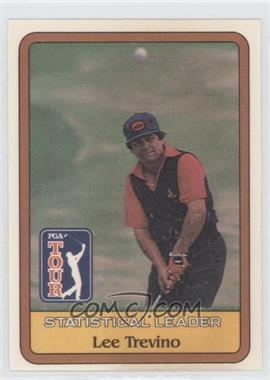 1981 Donruss Golf Stars #N/A - Lee Trevino