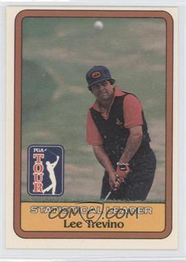 1981 Donruss Golf Stars #N/A - Lee Trevino