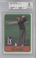 Jack Nicklaus Statistical Leader [BGS 5]