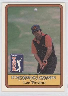 1981 Donruss Golf Stars #NoN - Lee Trevino