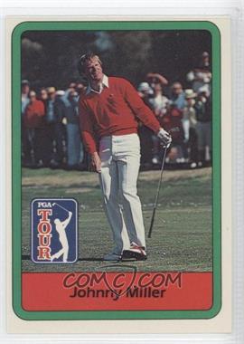 1982 Donruss Golf Stars - [Base] #12 - Johnny Miller