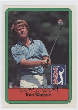 1982 Donruss Golf Stars - [Base] #3 - Tom Watson