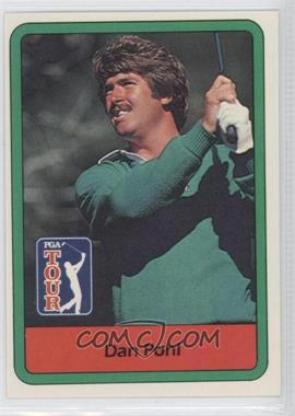 1982 Donruss Golf Stars - [Base] #42 - Dan Pohl