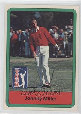 1982 Donruss Golf Stars #12 - Johnny Miller