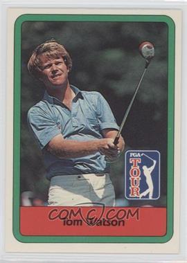 1982 Donruss Golf Stars #3 - Tom Watson