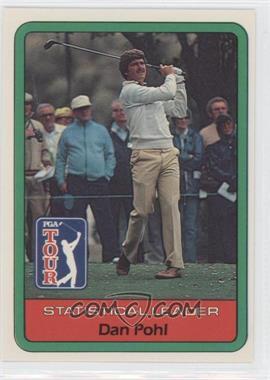 1982 Donruss Golf Stars #N/A - Dan Pohl
