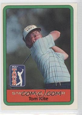 1982 Donruss Golf Stars #N/A - Tom Kite