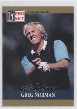 1990 PGA Tour Pro Set - [Base] #50 - Greg Norman