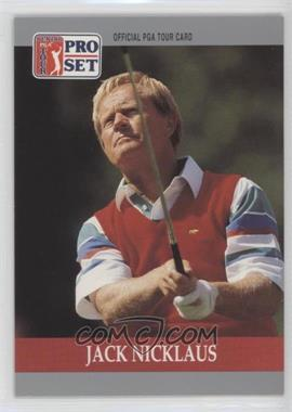 1990 PGA Tour Pro Set - [Base] #93 - Jack Nicklaus
