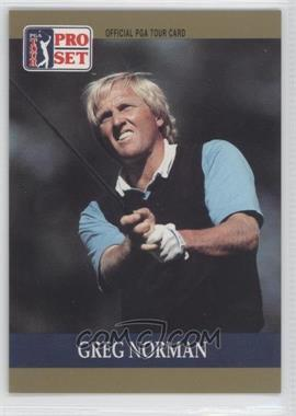 1990 PGA Tour Pro Set #50 - Greg Norman