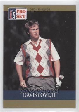 1990 PGA Tour Pro Set #56 - Davis Love III