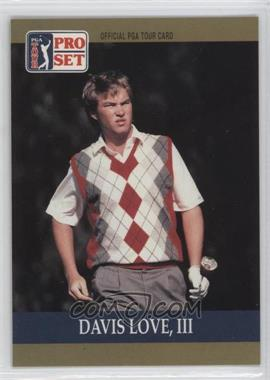 1990 PGA Tour Pro Set #56 - Davis Love III