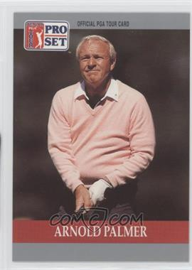 1990 PGA Tour Pro Set #80 - Arnold Palmer