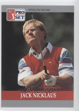 1990 PGA Tour Pro Set #93 - Jack Nicklaus