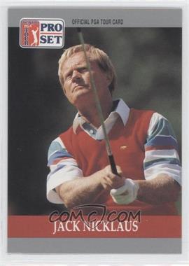 1990 PGA Tour Pro Set #93 - Jack Nicklaus