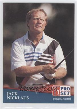 1991 Pro Set - [Base] #229 - Jack Nicklaus