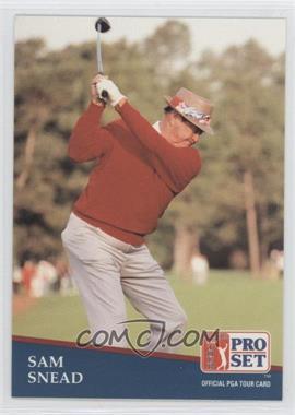 1991 Pro Set - [Base] #235 - Sam Snead