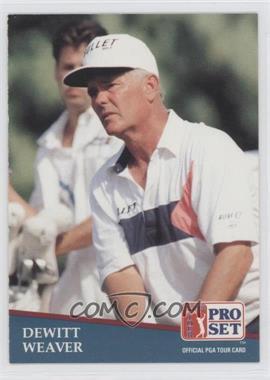 1991 Pro Set - [Base] #261 - Dewitt Weaver