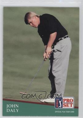 1991 Pro Set - [Base] #93 - John Daly