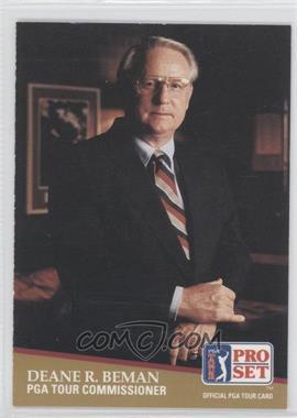 1991 Pro Set - [Base] #CC1 - Deane Beman