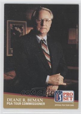 1991 Pro Set #1 - Deane Beman