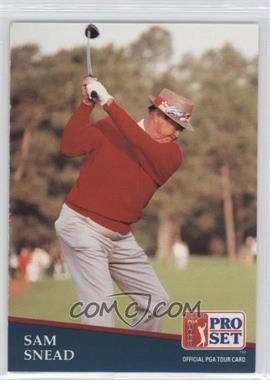 1991 Pro Set #235 - Sam Snead