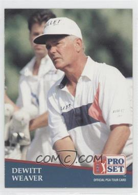1991 Pro Set #261 - Dewitt Weaver