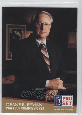 1991 Pro Set #CC1 - Deane Beman