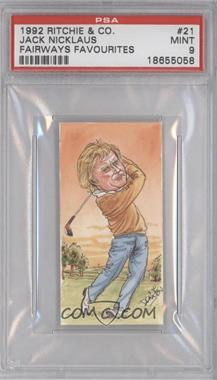 1992 Fairways Favourites [???] #21 - Jack Nicklaus [PSA 9]