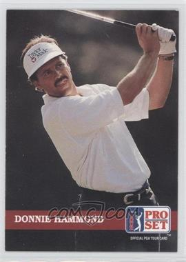 1992 Pro Set Golf - [Base] #124 - Donnie Hammond