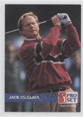 1992 Pro Set Golf - [Base] #201 - Jack Nicklaus