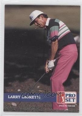 1992 Pro Set Golf - [Base] #225 - Larry Laoretti