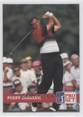 1992 Pro Set Golf - [Base] #81 - Fuzzy Zoeller